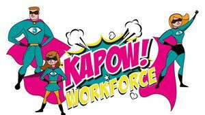 Logo for Kapow! Workforce